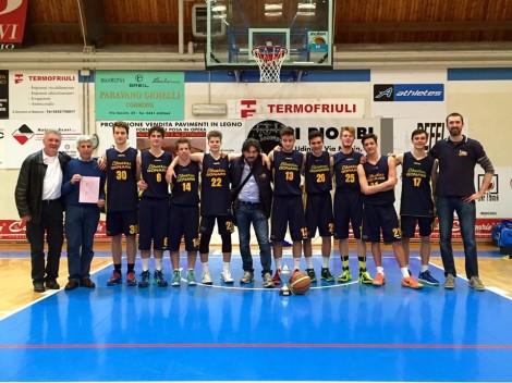 Under 17 campioni Elite FVG  2015